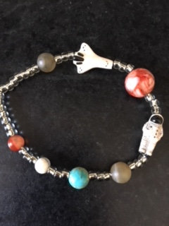 Astronaut Shuttle Mars kids bracelet