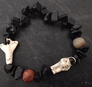 Astronaut and Shuttle kids bracelet