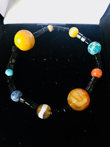 Solar System Bracelet- Black