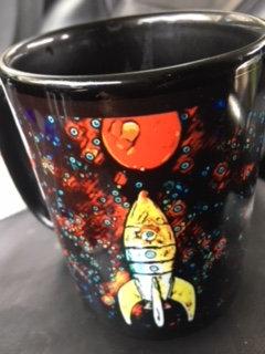 Rocket to Mars Coffee Mug