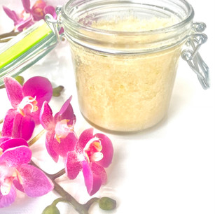New Product! Citrus Coconut Sea Salt Scrub