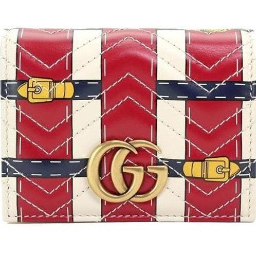 [GUCCI] GG Marmount Card Case Wallet