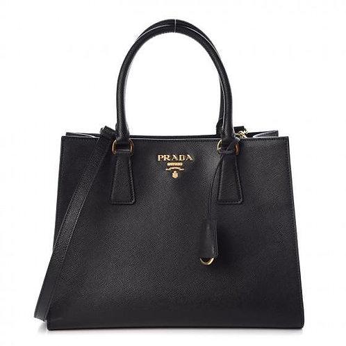 [PRADA] Women's Saffiano Lux Handbag