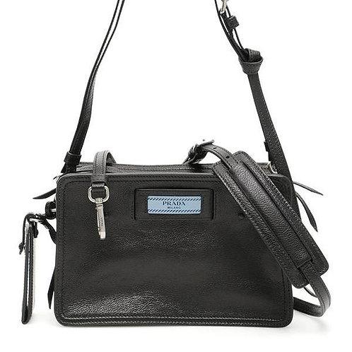 [PRADA] Etiquette Logo Camera Bag