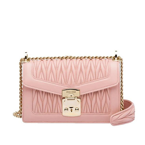 [MIU MIU] Confidential Nappa Leather Bag