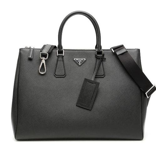 [PRADA] Saffiano Galleria Travel Bag