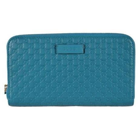 [GUCCI] Micro Guccissima Zip Around Wallet