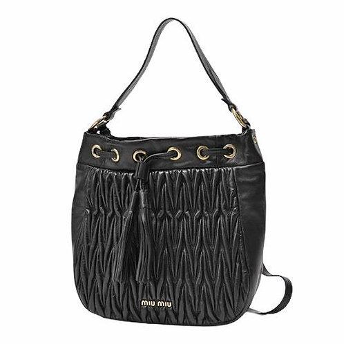 [MIU MIU] Matelassé Shoulder Bag