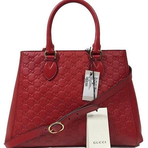 [GUCCI] Guccissima Leather Top Handle Bag