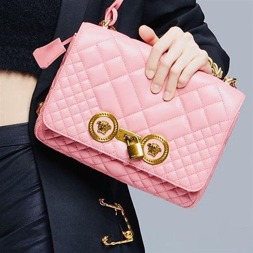 [VERSACE] LARGE Quilted Icon Shoulder Bag