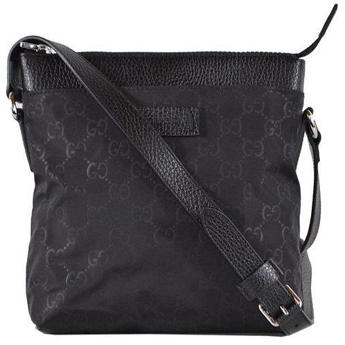 [GUCCI] Nylon Mini Guccissima Messenger Bag