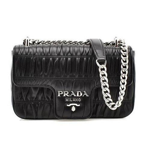 [PRADA] Nappa Gaufre Leather Bag