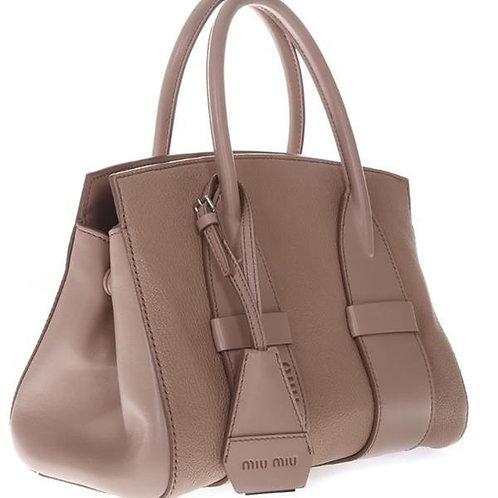 [MIU MIU] Madras Top Handle Bag