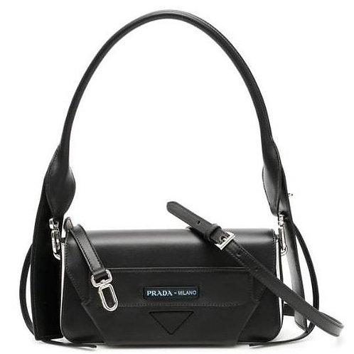 [PRADA] Manuelle Leather Shoulder Bag