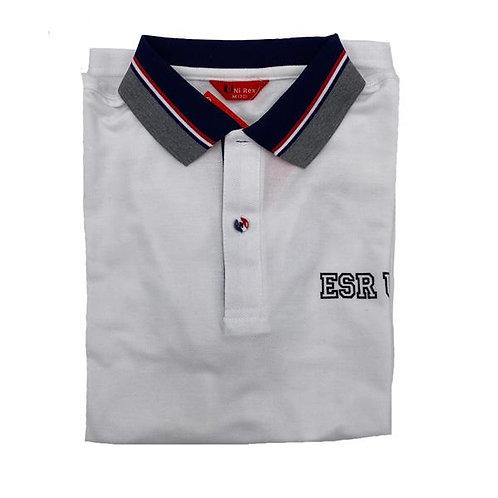 ESR USA White Polo