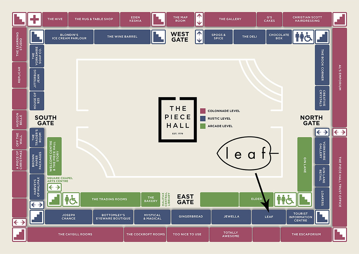 PHall Site Plan VISITOR MAP with arrow 1