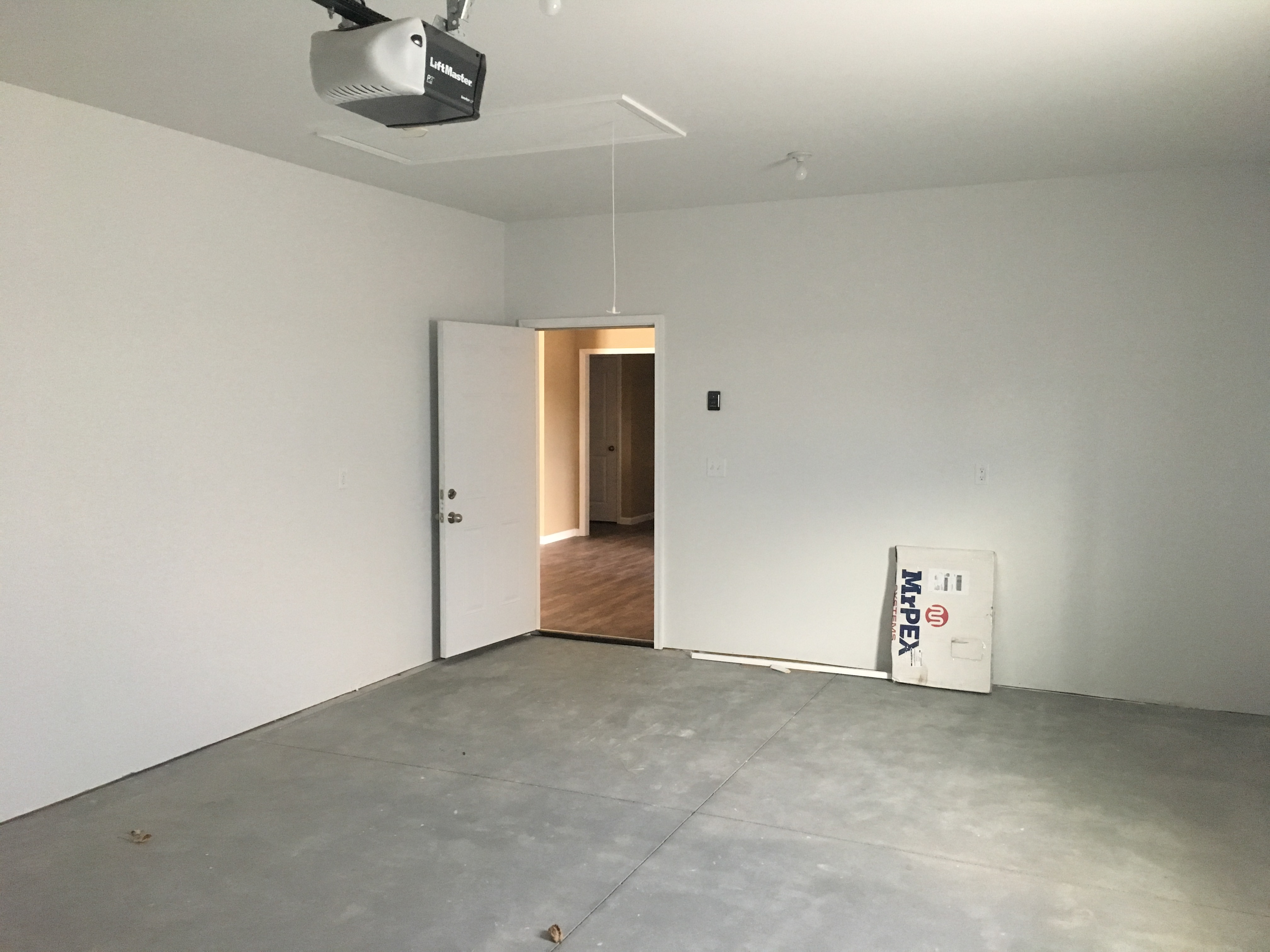 Single Car Attached Garage