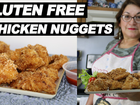 How To Make Gluten Free Chicken Nuggets | Quick and Easy Gluten Free Recipe with No Oil (2020)