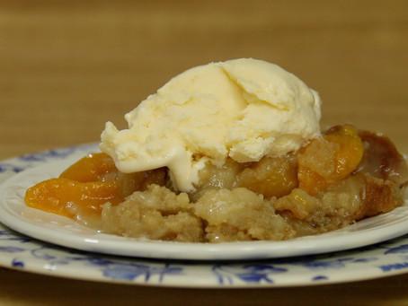 Gluten Free Peach Cobbler (Dump Cake) | Gluten Free Desserts | 12 Bad Foods Series (2020)