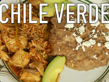 How To Make Chile Verde with Pork | Without the 12 Bad Foods