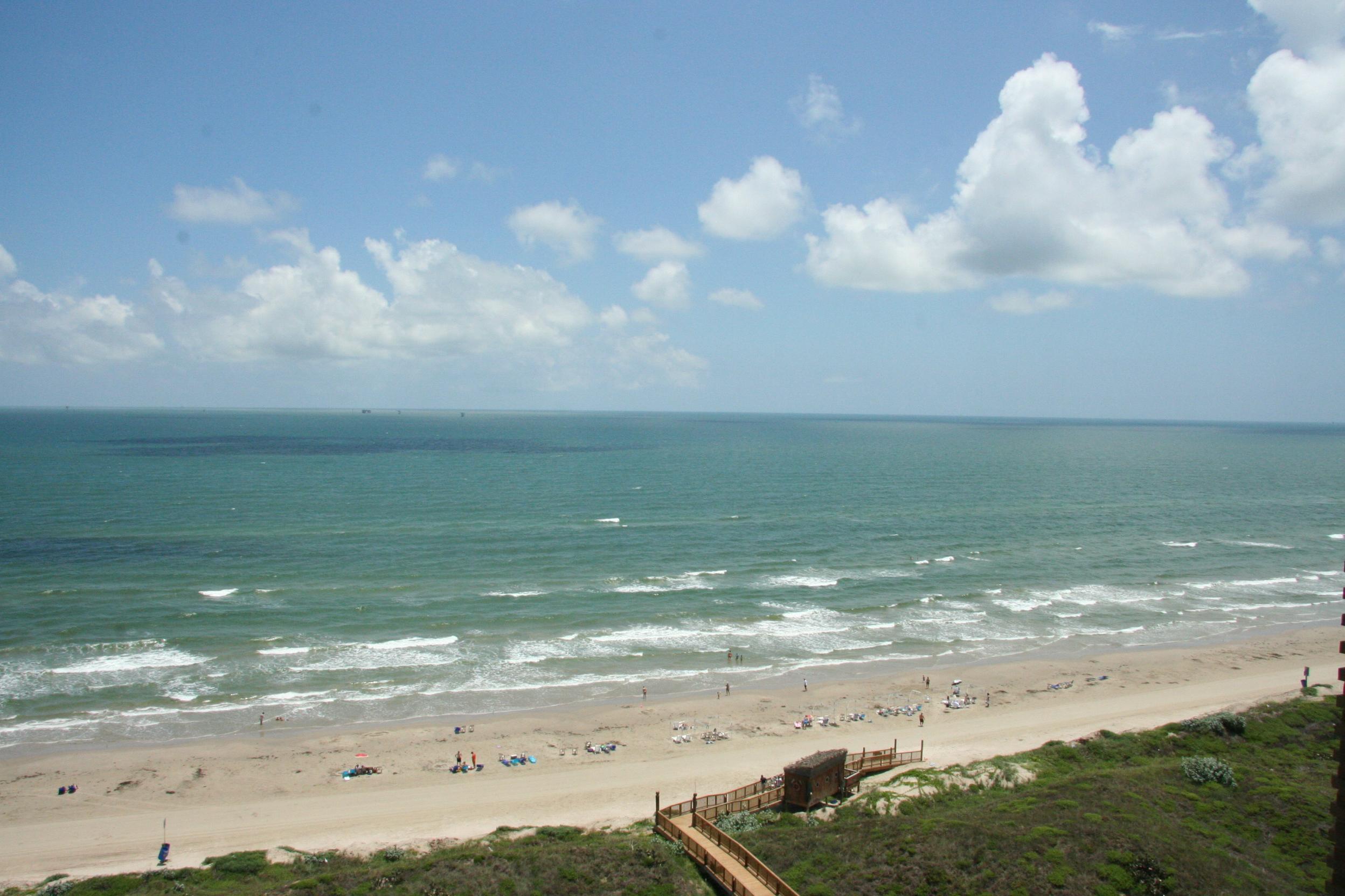 A Texas beach