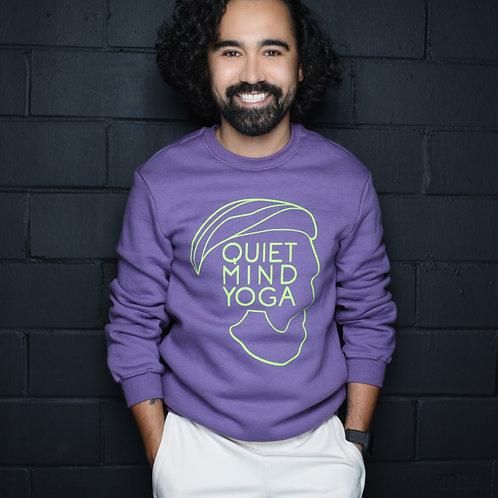 Non-Gender QMY Purple Sweatshirt