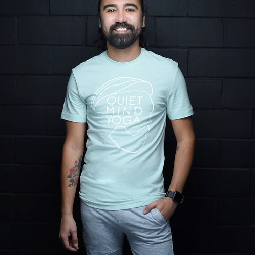 Non-Gender QMY Seafoam Green T-Shirt