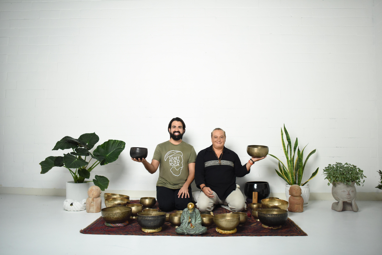 Yoga + Singing Bowls
