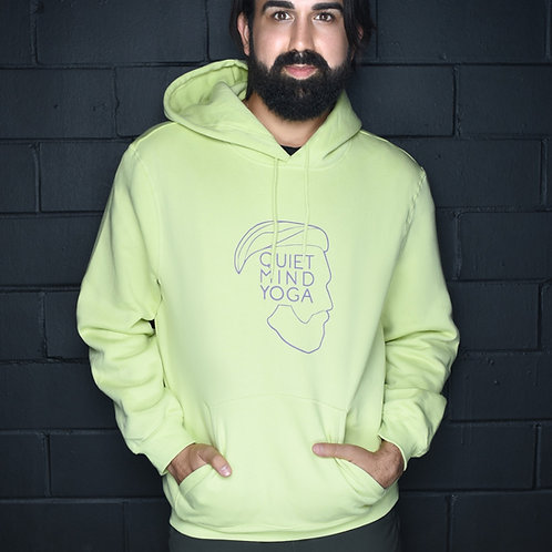 Non-Gender QMY Lime Green Hoodie