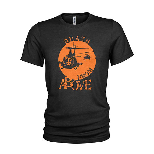 Apocalypse Now Death from Above Huey Helicopter cult war film T-shirt