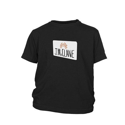 KIDS - Die Hard - john McClane airport sign alternative film T-shirt