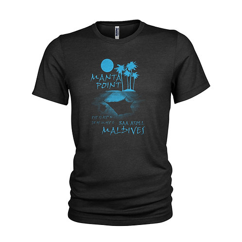 Manta Point Maldives Top 10 dive sites scuba diving T-shirt