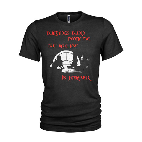 The Crow - Buildings Burn film quote T-shirt