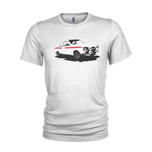 Ford Escort RS Mexico Fast Ford legendary road car T-shirt