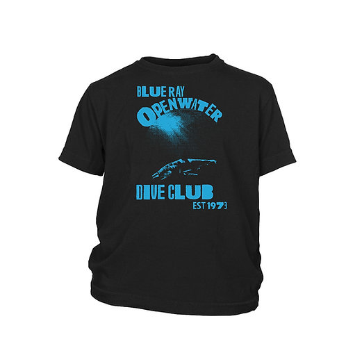 KIDS - Blue Ray Open Water Scuba Dive Club Mako Shark T-shirt