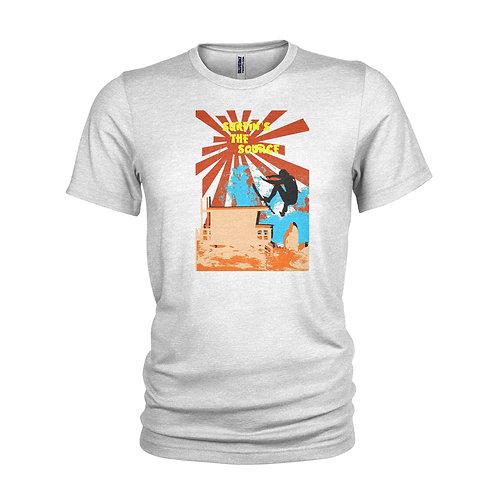Surfin's the source - POINT BREAK quote - Surfing & beach surf T-shirt