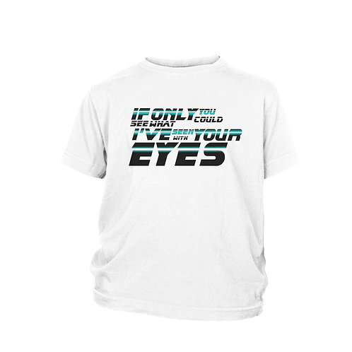 KIDS - Blade Runner Movie quote Classic Harrison Ford - Ridley Scott film T-shi