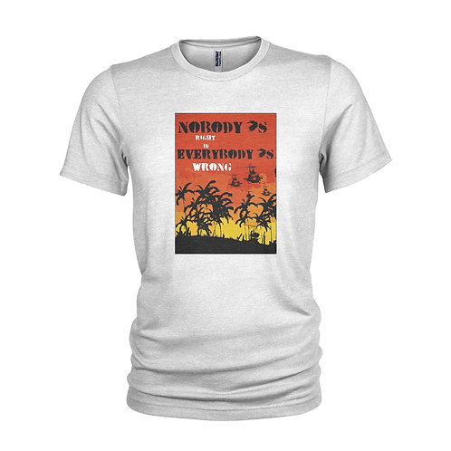 Buffalo Springfield - For what it's worth' music inspired protest T-shirt
