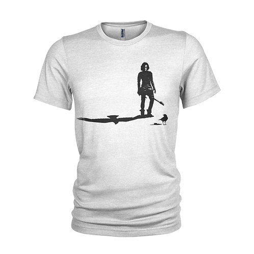 The Crow - Standing in the SHADOWS - Classic Film Brandon Lee T-shirt