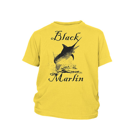 KIDS - Black Marlin - Indian Ocean Billfish - SCUBA & FISHING T-shirt