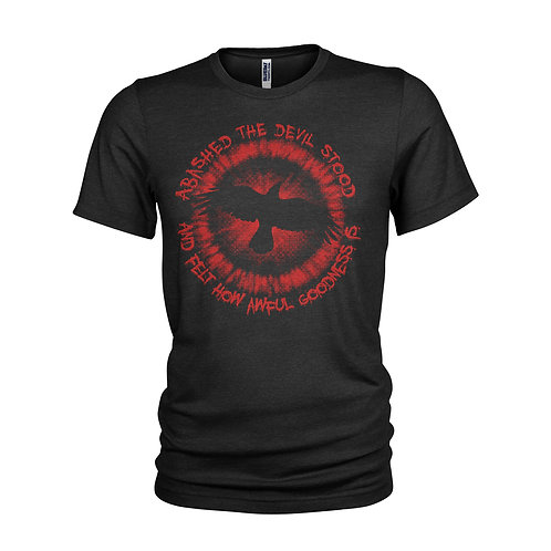 The Crow Abashed the devil stood Classic Brandon Lee film quote T-shirt