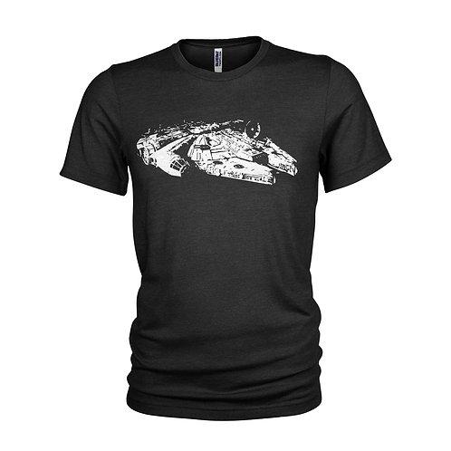 Star Wars Millennium Falcon The Empire strikes back Film Movie T-shirt