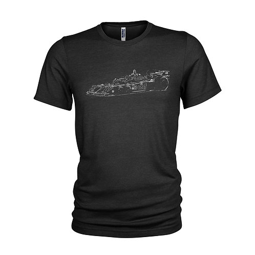 Tyrrell P34 'six wheeler' Classic Formula 1 car T-shirt