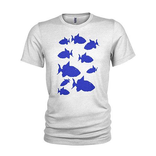 Blue Triggerfish shoal snorkelling T-shirt