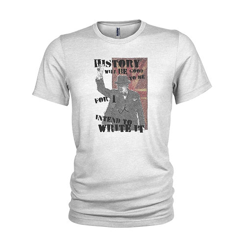 Winston Churchill Prime Minister quote T-shirt