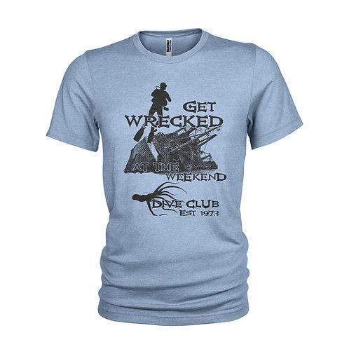 Wrecked - Unique dive school & wreck diving humorous  T-Shirt