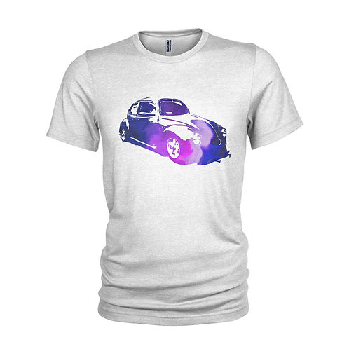 VW Beetle - the purple beach bug retro T-shirt
