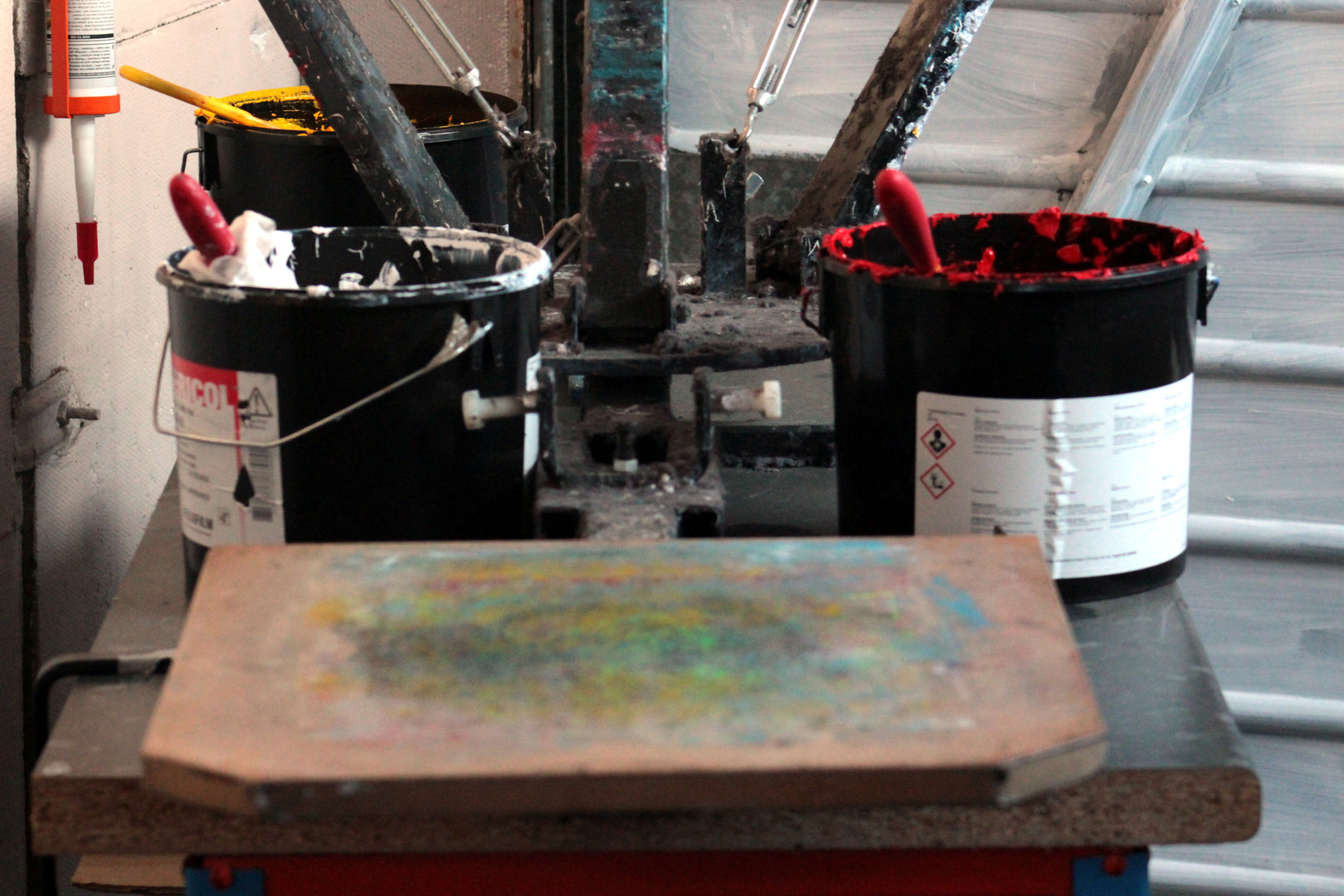 Print board & inks