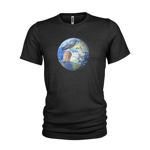DAVID ATTENBOROUGH - Blue Planet II - Planet Earth - TV Legend T-shirt