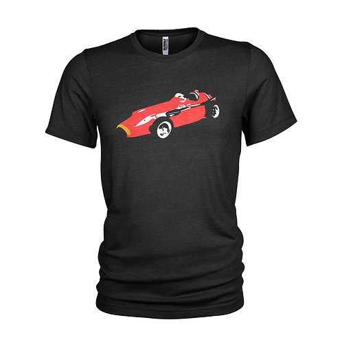 Maserati 250F Fangio & Stirling Moss Racing legend T-shirt